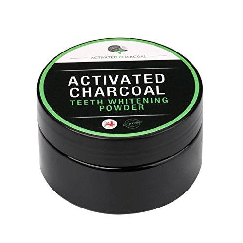 DWD Teeth Whitening Powder Natural Organic Activated Charcoal Bamboo Toothpaste