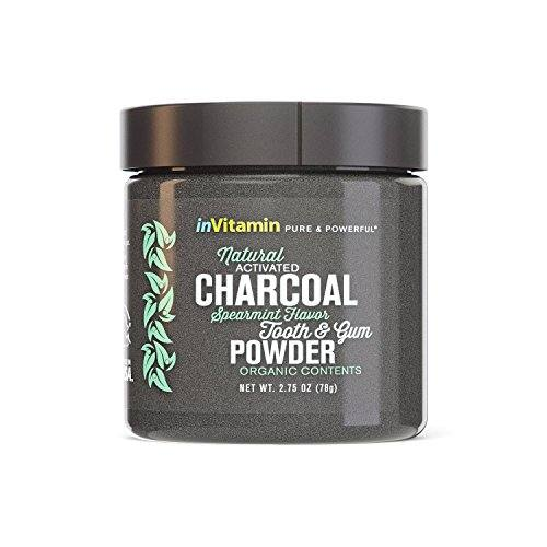 InVitamin Natural Whitening Activated Charcoal Powder