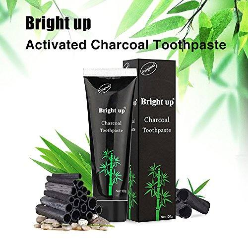 Holisouse Teeth Whitening – Activated Charcoal Toothpaste Teeth Stains&Smoke Stains Remover Clean Bright Teeth and Keep Fresh(4 oz)
