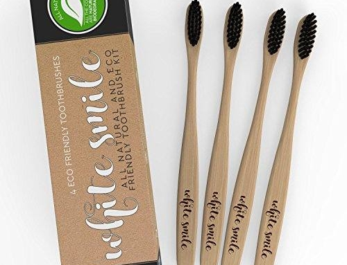 Biodegradable Toothbrush, Family Pack of 4, Great For Toddlers, Kids & Adults.