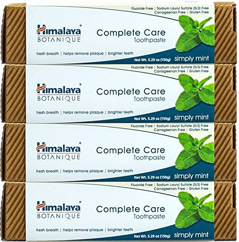 Himalaya Complete Care Flouride Free – Simply Mint Natural Toothpaste